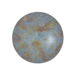 Cabochons par Puca® lasikapussi 18 mm, opaakki laikukas sininen/vihreä