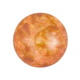 Cabochons par Puca® lasikapussi 18 mm, opaakki laikukas lohenpunainen