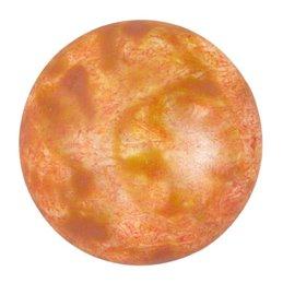 Cabochons par Puca® lasikapussi 25 mm, opaakki laikukas lohenpunainen