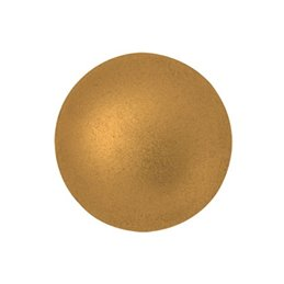 Cabochons par Puca® lasikapussi 18 mm, matta pronssinen kulta