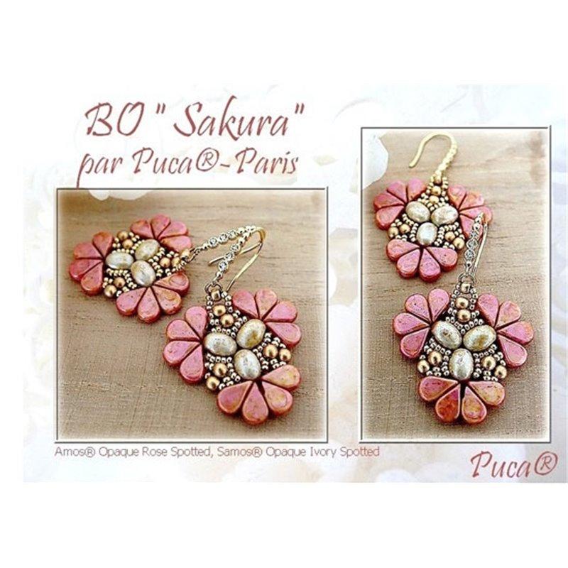 Sakura korvakorut -ohje