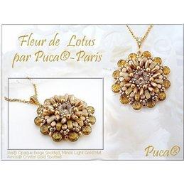 Lotus Flower riipus ja sormus -ohje