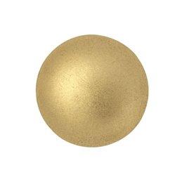 Cabochons par Puca® lasikapussi 18 mm, matta vaalea kulta