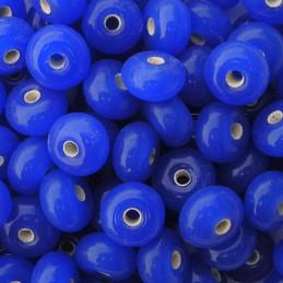 Lamppuhelmi rondelli 11 x 7 mm, tummansininen