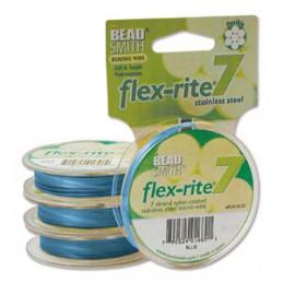 Flex-Rite 7-säikeinen koruvaijeri 0,35 mm, sininen