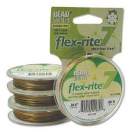 Flex-Rite 7-säikeinen koruvaijeri 0,35 mm, pronssi