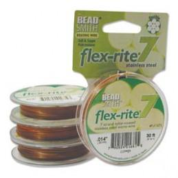 Flex-Rite 7-säikeinen koruvaijeri 0,35 mm, kupari