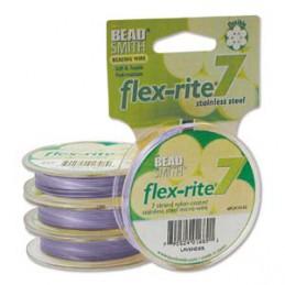 Flex-Rite 7-säikeinen koruvaijeri 0,35 mm, laventeli