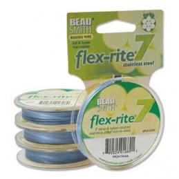 Flex-Rite 7-säikeinen koruvaijeri 0,35 mm, montanansininen