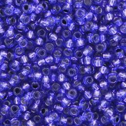 Toho pyöreä siemenhelmi 11/0, hopeasisus violetti