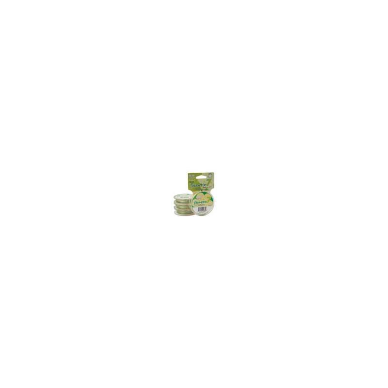 Flex-Rite 7-säikeinen koruvaijeri 0,35 mm, keltavihreä