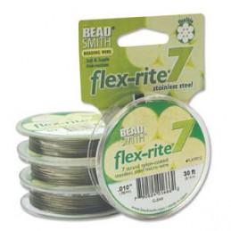 Flex-Rite 7-säikeinen koruvaijeri 0,24 mm, kirkas teräs