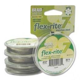 Flex-Rite 7-säikeinen koruvaijeri 0,30 mm, kirkas teräs
