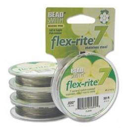 Flex-Rite 7-säikeinen koruvaijeri 0,50 mm, kirkas teräs 9,1 m