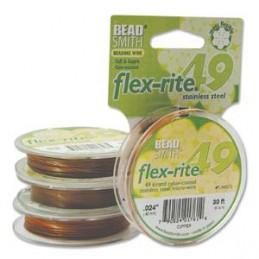 Flex-Rite 49-säikeinen koruvaijeri 0,60 mm, kupari