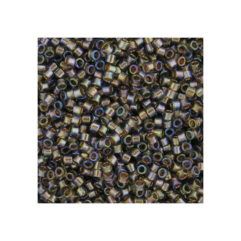 Toho Treasure 12/0, kultasisus musta timantti sateenkaari