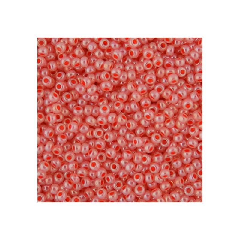 Toho pyöreä siemenhelmi 11/0, helmeilevä tomaattikeitto (TR-11-906)