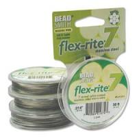 Vaijerit, langat ja siimat - Flex-Rite koruvaijerit - 7-säikeinen - 0,36 mm