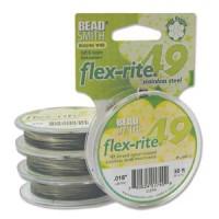 Vaijerit, langat ja siimat - Flex-Rite koruvaijerit - 49-säikeinen - 0,45 mm