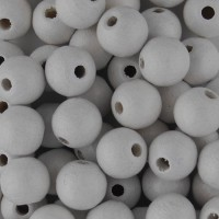 Puuhelmet - Pyöreät 8 mm