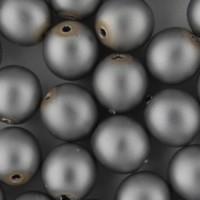 Lasihelmet - Helmiäislasihelmet - Pyöreät 6 mm - Mattapintaiset
