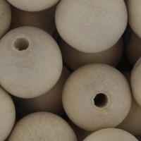 Puuhelmet - Pyöreät 16 mm